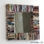ideas de decoracion para reciclar viejas revistas 2