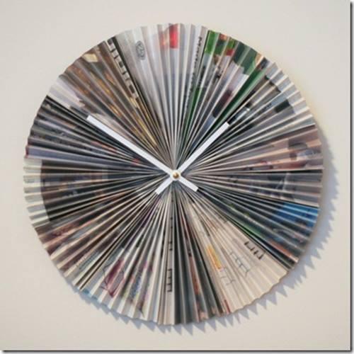 ideas de decoracion para reciclar viejas revistas 3