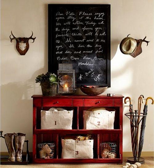 Ideas para decorar paredes con trofeos de caza 10