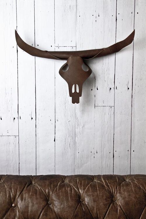 Ideas para decorar paredes con trofeos de caza 2