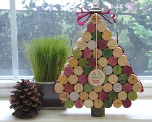 como hacer un arbol de navidad original y alternativo 10