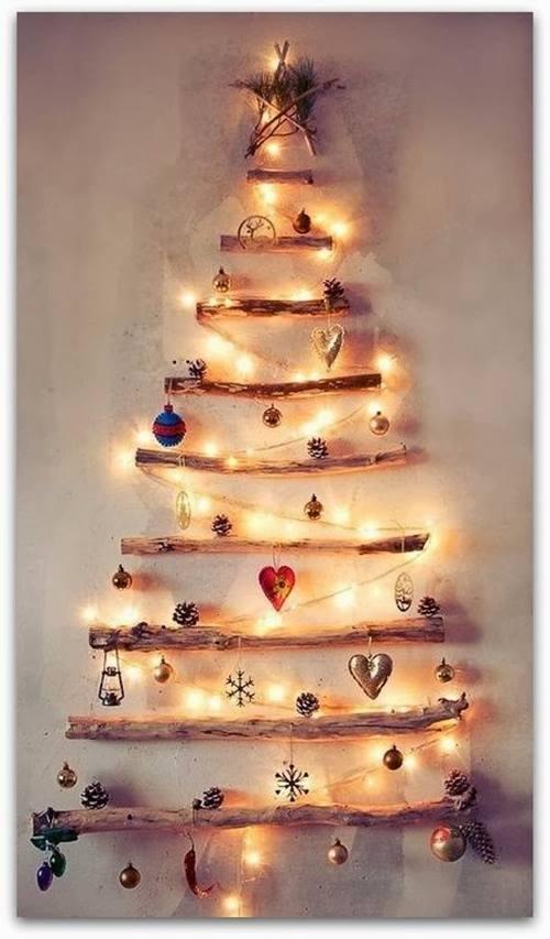 como hacer un arbol de navidad original y alternativo 6