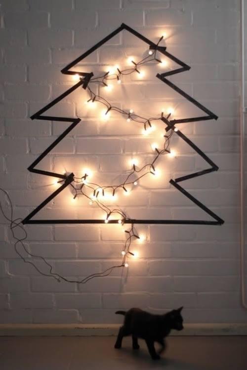 Árboles de Navidad fáciles para hacer a última hora... 2