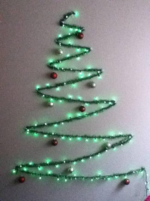 Árboles de Navidad fáciles para hacer a última hora... 3