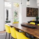 Ideas de decoración vintage con sutiles pinceladas de amarillo 8