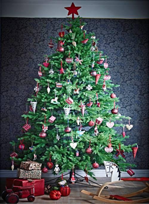 Nuevas decoraciones de Navidad del catálogo Ikea 2