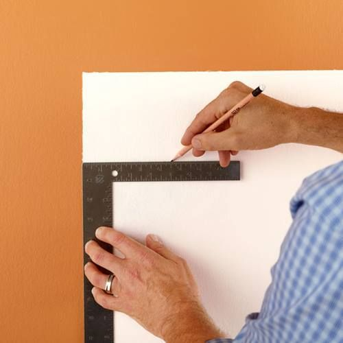 Cómo hacer un cabecero de cama original con pintura de pared 4