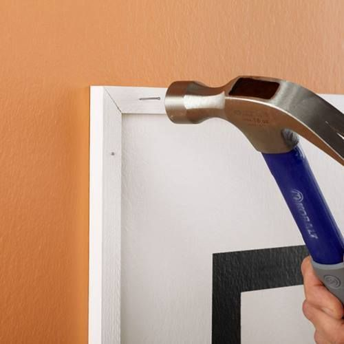 Cómo hacer un cabecero de cama original con pintura de pared 8