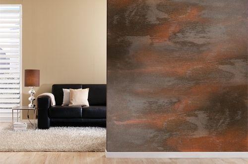 Cómo pintar mi casa con pinturas decorativas I pintura efecto óxido  1