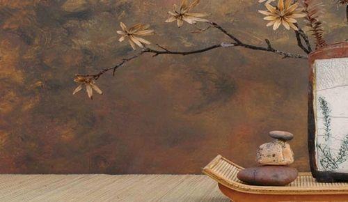 Como pintar mi casa con pinturas decorativas II pintura efecto oxido de Osaka 9