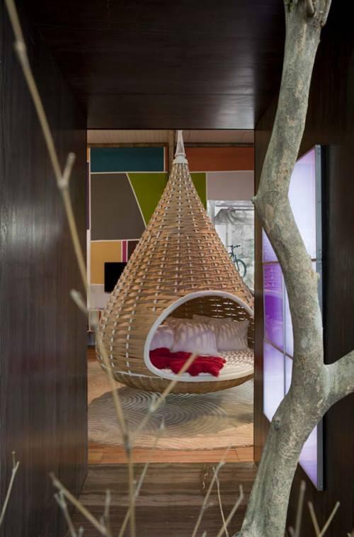 Decoración moderna ejemplar para interiores de casas estudio en Brasil que cautiva... 2