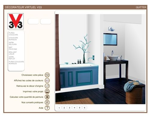Decorador virtual para interiores de casas 1