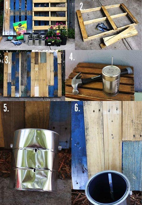 Ideas para reciclar en casa (y hacer macetas con botellas, latas y mucho más...) 4