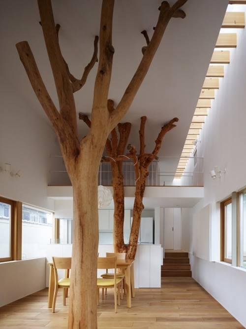Árboles secos para decorar interiores de casas 3