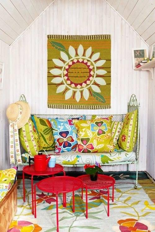7 ideas de inspiración boho-chic para decorar la casa 7