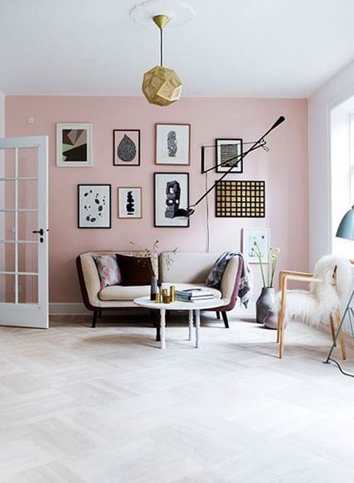 La decoración de interior en color rosa palo es ¡tendencia absoluta! 8