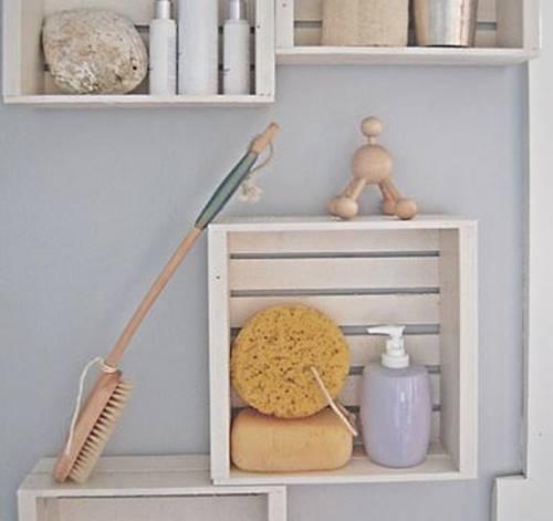 Nuevas ideas para pintar cajas de madera (y reutilizarlas para decorar la casa) 7