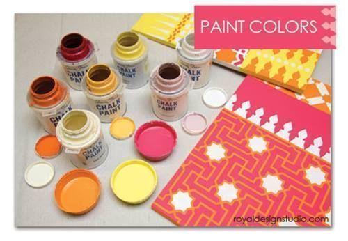 Cómo decorar mi casa con plantillas para pintar de estilo marroquí 7