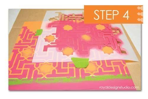 Cómo decorar mi casa con plantillas para pintar de estilo marroquí 9