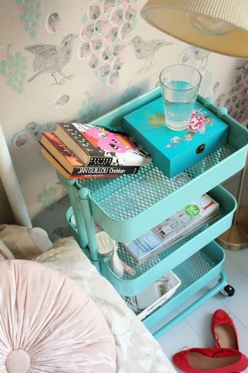 Cómo transformar camareras de cocina Ikea Rastog en muebles de almacenaje 14