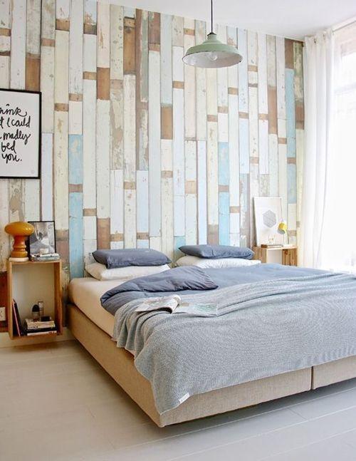 Cosas hechas con palets esta vez les toca a las paredes for Cosas hechas con madera