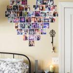 Decorar con fotos, ¡y dar vida a las paredes con un corazón! 5