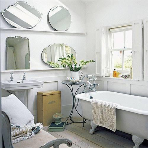 Espejos decorativos para habitaciones vintage 2