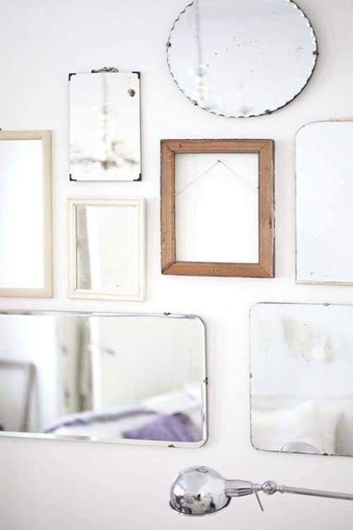 Espejos decorativos para habitaciones vintage 5