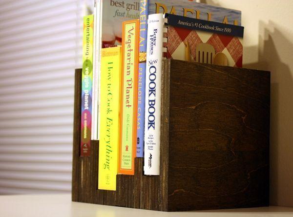 Estantes para libros DIY bonitos y funcionales 1
