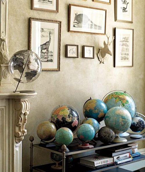 Ideas para decorar con colecciones de objetos curiosos 7