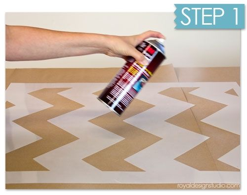 Nuevas ideas geom tricas con plantillas para pintar - Plantillas infantiles para pintar paredes ...