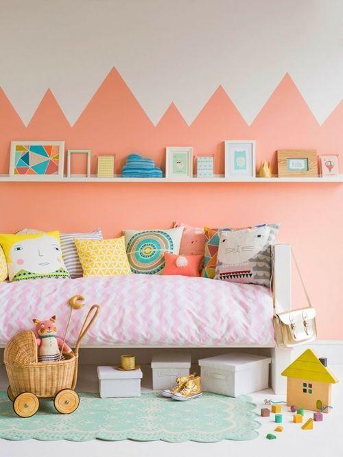 los mejores colores para paredes para cuartos infantiles 1