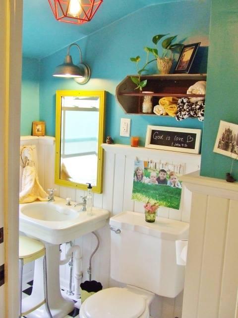 Cómo decorar baños pequeños 1