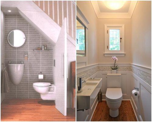 Cómo decorar baños pequeños 11