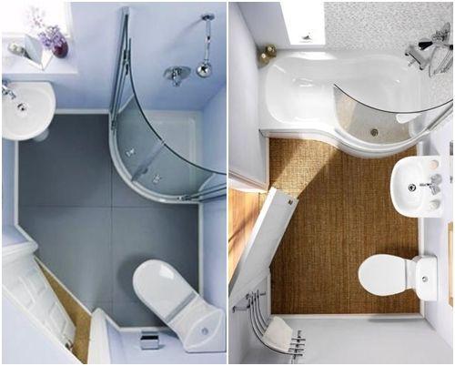 Cómo decorar baños pequeños 12