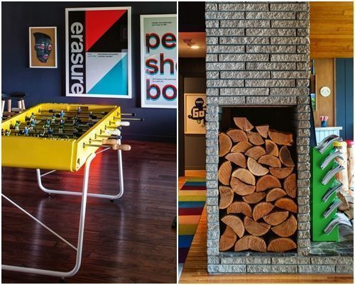 Muebles de colores para una decoración de interiores atrevida y singular 3