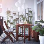 Muebles de terraza para espacios pequeños by Ikea 4