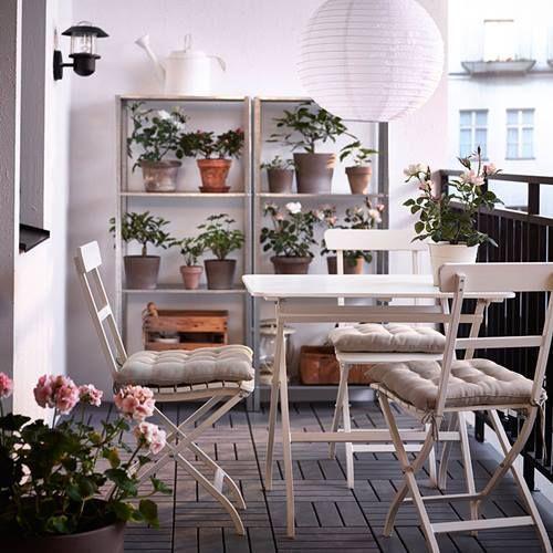 Decomanitas Pequeños Muebles De Espacios Terraza Para By Ikea nwOPNkXZ80