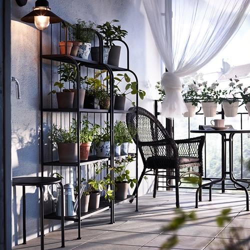 muebles de terraza para espacios peque os by ikea On muebles de terraza ikea