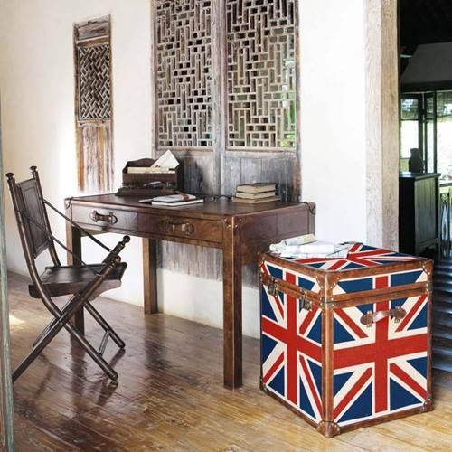 Muebles vintage ideas para decorar con baules 3