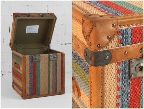 Muebles vintage ideas para decorar con baules 5