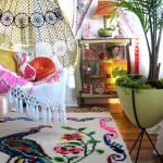 Sillas colgantes para decoración de casas con estilo