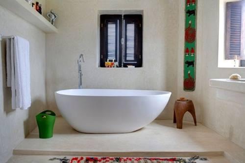 Una casa rústica de estilo marroquí con decoración retro 8