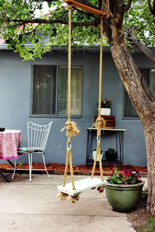 Columpio en casa para decorar y disfrutar 1