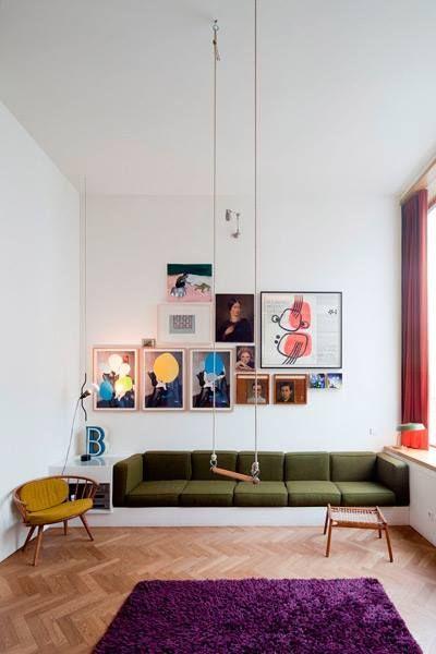 Columpio en casa para decorar y disfrutar 3