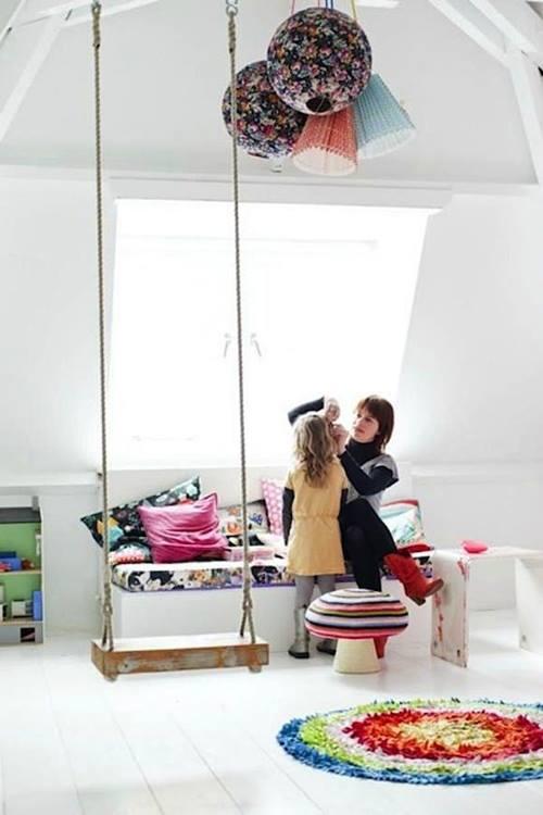 Columpio en casa para decorar y disfrutar 6