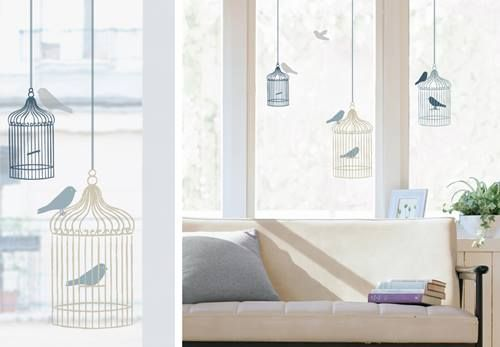 Vinilos para ventanas que sirven para decorar y dar intimidad 3