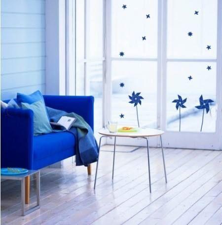 Vinilos para ventanas que sirven para decorar y dar intimidad 8