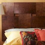 Cabeceros de cama originales para hacer con tiras entrelazadas  10