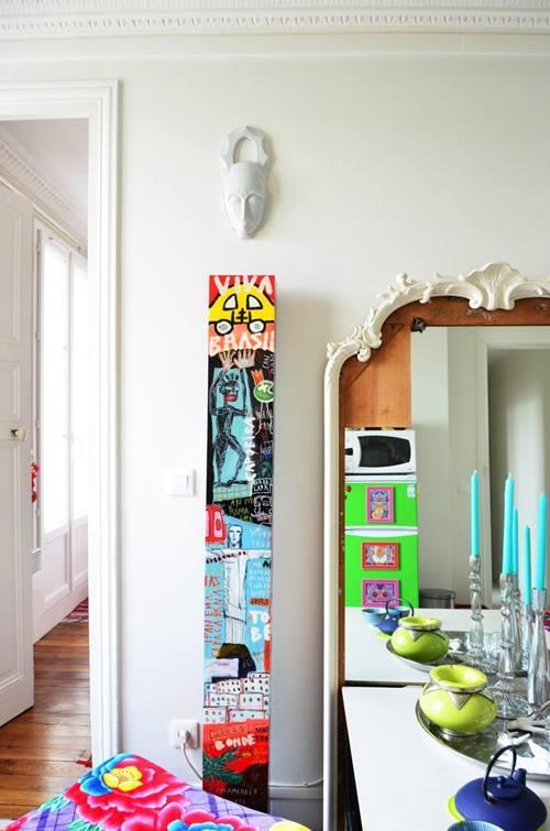 Casas con encanto el apartamento de Sofía en París 6